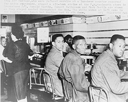 Lunch counter sit-in, Greensboro, North Carolina
