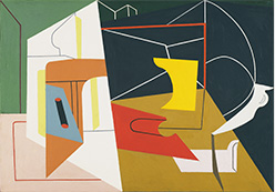Stuart Davis, Egg Beater No. 4, 1928