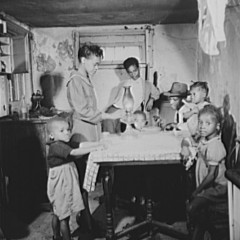 Gordon Parks, Washington, D.C. A family which lives in the Southwest area, 1942