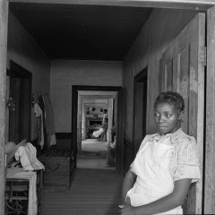 Jack Delano, Interior of Negro rural house. Greene County, Georgia, 1941