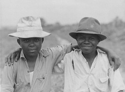 Bridgeton, New Jersey. FSA (Farm Security Administration) agricultural workers' camp. Children of migrant workers